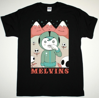 MELVINS LUCIUS AND MOUNTAINS NEW BLACK T-SHIRT