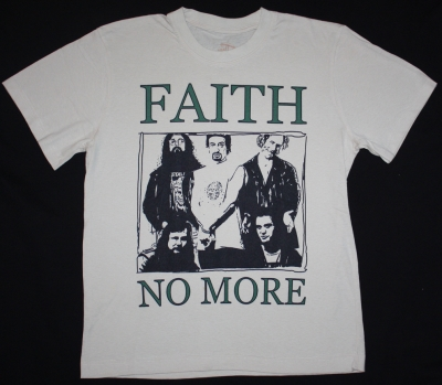 FAITH NO MORE BAND  NEW WHITE T-SHIRT