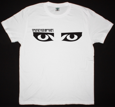SIOUXSIE AND THE BANSHEES EYES NEW WHITE T-SHIRT