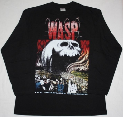 W.A.S.P. THE HEADLESS CHILDREN'89 LONG SLEEVE T-SHIRT