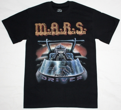 M.A.R.S. PROJECT DRIVER'8 NEW BLACK T-SHIRT