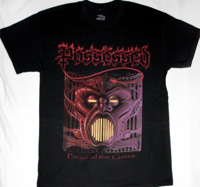 POSSESSED BEYOND THE GATES NEW BLACK T-SHIRT