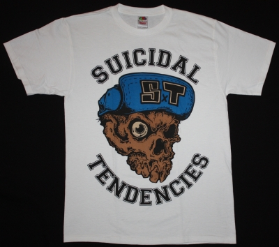 SUICIDAL TENDENCIES FREAK  NEW WHITE T-SHIRT