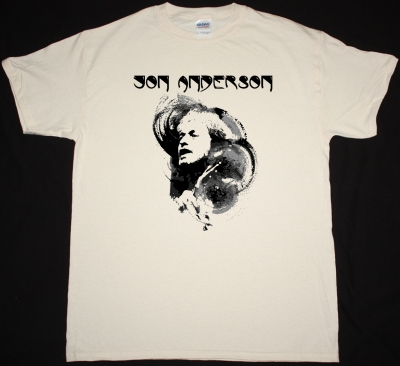 JON ANDERSON YES NEW NATURAL COLOR T-SHIRT