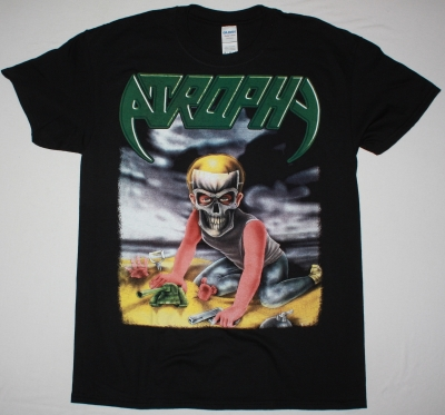 ATROPHY VIOLENT BY NATURE TOUR 1990 NEW BLACK T-SHIRT