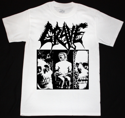 GRAVE TREMENDOUS PAIN'91  NEW WHITE T-SHIRT