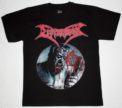 DISMEMBER SKIN HER ALIVE'91  NEW BLACK T-SHIRT