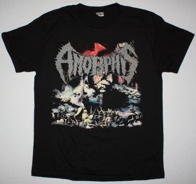 AMORPHIS THE KARELIAN ISTHMUS NEW BLACK T-SHIRT