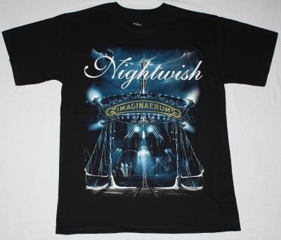 NIGHTWISH IMAGINAERUM 2011 NEW BLACK T-SHIRT