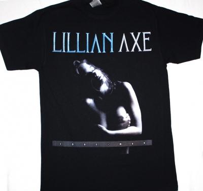 LILLIAN AXE LOVE+ WAR '89  NEW BLACK T-SHIRT