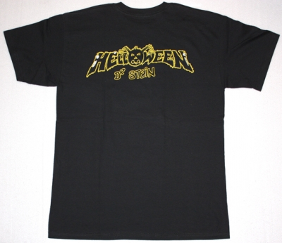 HELLOWEEN DR.STEIN '88  NEW BLACK T-SHIRT