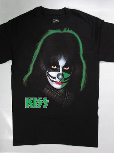 KISS PETER CRISS NEW RARE BLACK T SHIRT S,M,L,XL,2XL