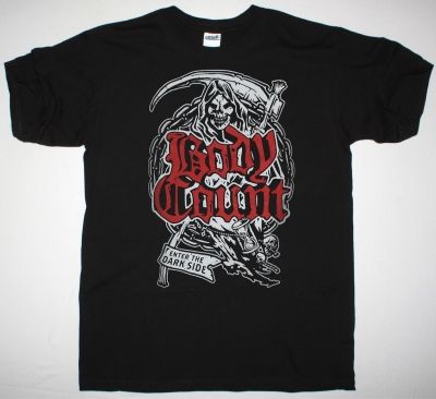 BODY COUNT THE REAPER NEW BLACK T-SHIRT