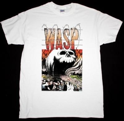 W.A.S.P. THE HEADLESS CHILDREN 1989 NEW WHITE T-SHIRT