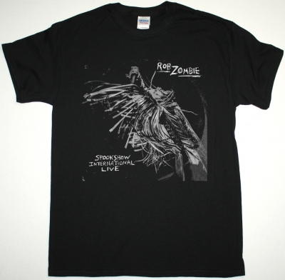 ROB ZOMBIE SPOOKSHOW INTERNATIONAL LIVE NEW BLACK T SHIRT