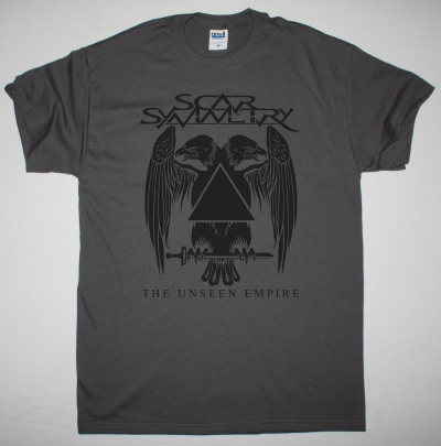 SCAR SYMMETRY THE UNSEEN EMPIRE NEW GREY T-SHIRT