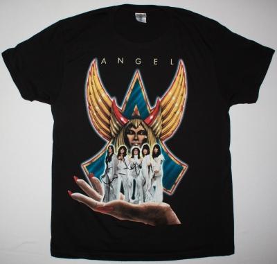 ANGEL HELLUVA BAND 1976 NEW BLACK T-SHIRT