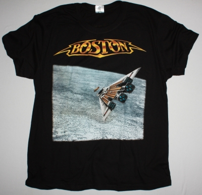 BOSTON THIRD STAGE NEW BLACK T-SHIRT