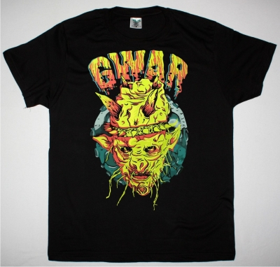 GWAR PLANET ODERUS NEW BLACK T SHIRT