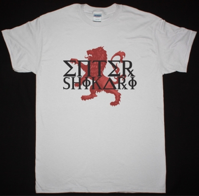 ENTER SHIKARI LION NEW ICE GREY T-SHIRT