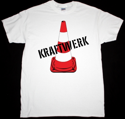 KRAFTWERK 1970 FIRST ALBUM NEW WHITE T-SHIRT