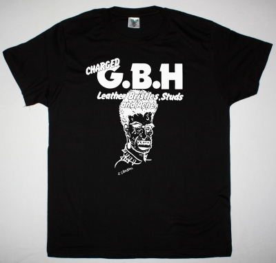 GBH STUDS AND ACNE NEW BLACK T SHIRT