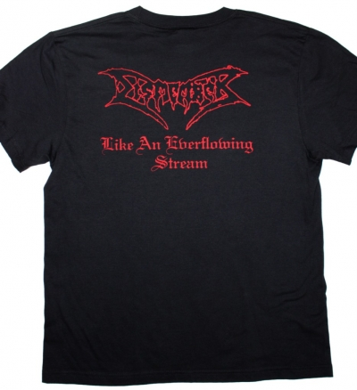 DISMEMBER LIKE AN EVERFLOWING STREAM 1991 NEW BLACK T-SHIRT