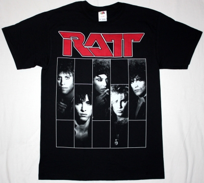 RATT DANCING UNDERCOVER '86  NEW BLACK T-SHIRT