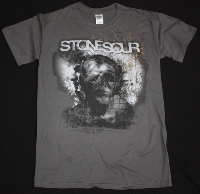 STONE SOUR HOUSE OF GOLD & BONES NEW GREY T-SHIRT