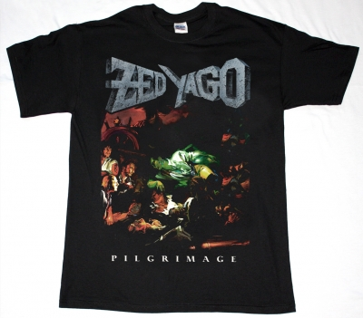 ZED YAGO'89 PILIGRIMAGE NEW BLACK T-SHIRT
