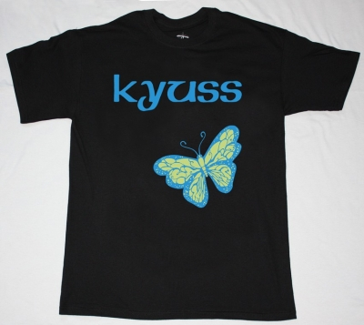 KYUSS BUTTERFLY  NEW BLACK T-SHIRT