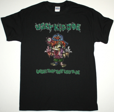 UGLY KID JOE UGLIER THAN THEY USED TO BE NEW BLACK T SHIRT