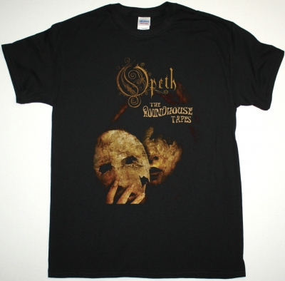 OPETH THE ROUNDHOUSE TAPES NEW BLACK T-SHIRT