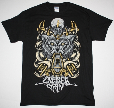 CHELSEA GRIN WOLFKEYS NEW BLACK T-SHIRT