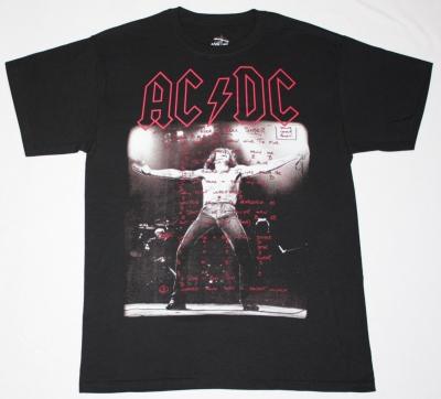 AC DC BON SCOTT IF YOU WANT BLOOD AC/DC NEW BLACK T-SHIRT