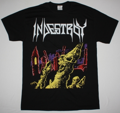 INDESTROY INDESTROY 1987 NEW BLACK T-SHIRT
