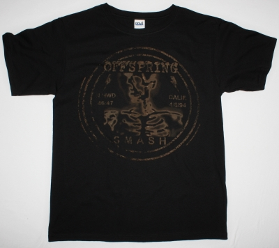 THE OFFSPRING SMASH 4/8/94 NEW BLACK T-SHIRT