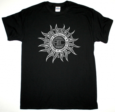 ALICE IN CHAINS SUN LOGO NEW BLACK T-SHIRT