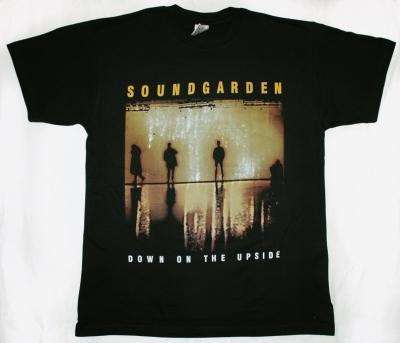 SOUNDGARDEN DOWN ON THE UPSIDE'96 NEW BLACK T-SHIRT