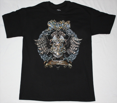 SKYCLAD 1991 THE WAYWARD SONS OF MOTHER EARTH NEW BLACK T-SHIRT