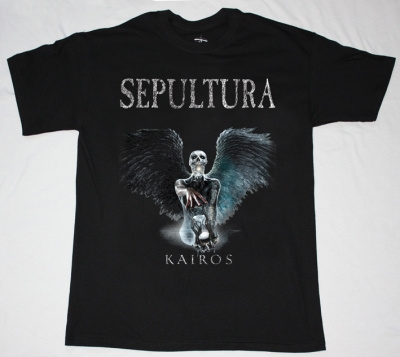 SEPULTURA KAIROS NEW BLACK T-SHIRT