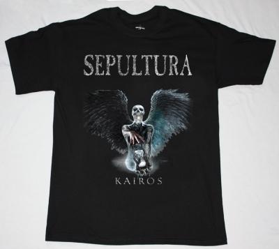 SEPULTURA KAIROS NEW BLACK T-SHIRT
