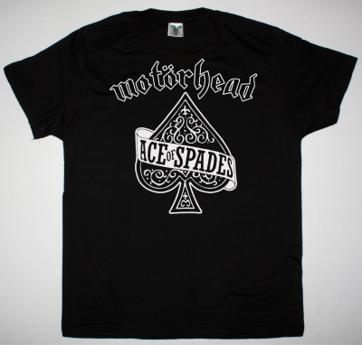 MOTORHEAD ACE OF SPADES NEW BLACK T-SHIRT