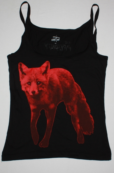 THE PRODIGY FOX / THE DAY IS MY ENEMY BLACK WOMAN'S VEST TANK TOP