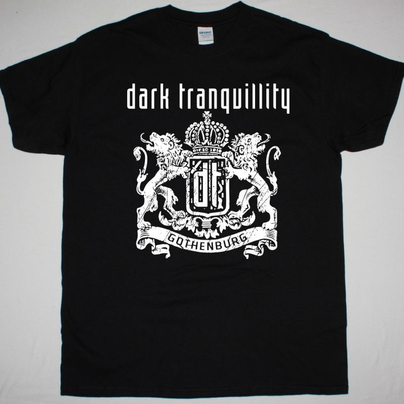 DARK TRANQUILLITY GOTHENBURG NEW BLACK T-SHIRT