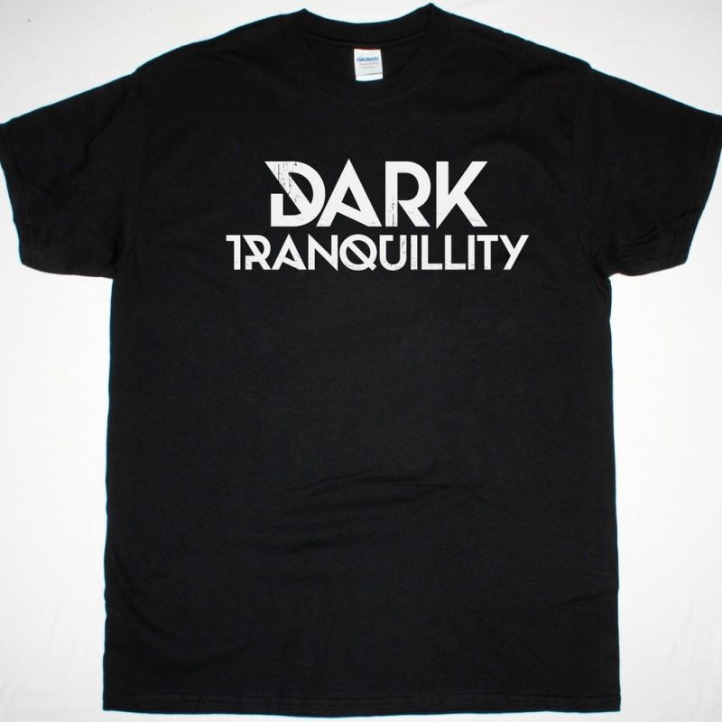 DARK TRANQUILLITY LOGO NEW BLACK T-SHIRT