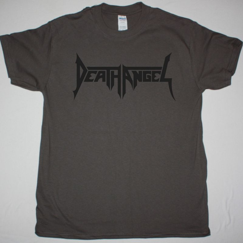 DEATH ANGEL LOGO NEW GREY T-SHIRT