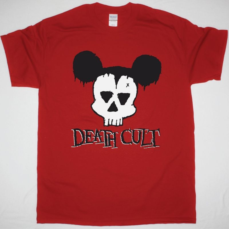 DEATH CULT RED LOGO NEW RED T-SHIRT