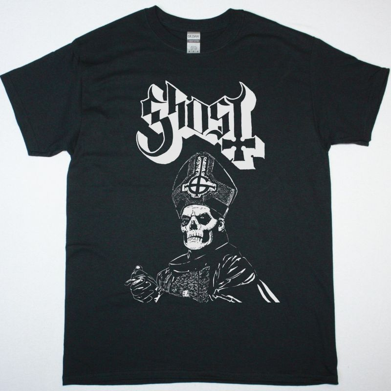 GHOST POPE NEW BLACK T-SHIRT