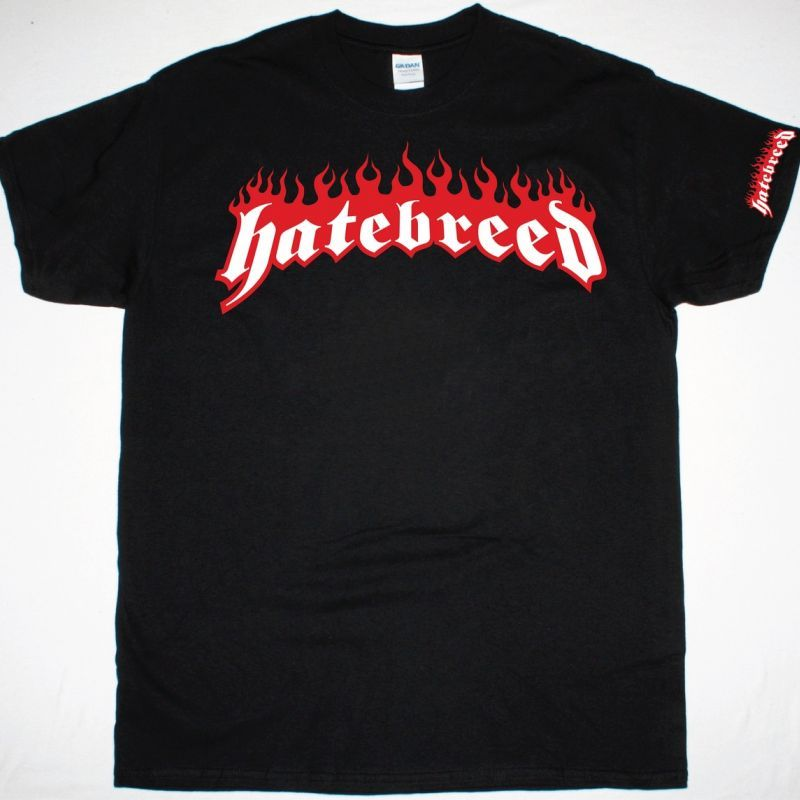 HATEBREED LOGO NEW BLACK T-SHIRT